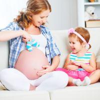 妊娠中の入園式なら・・優美&着心地の良いマタニティドレスで決まり!