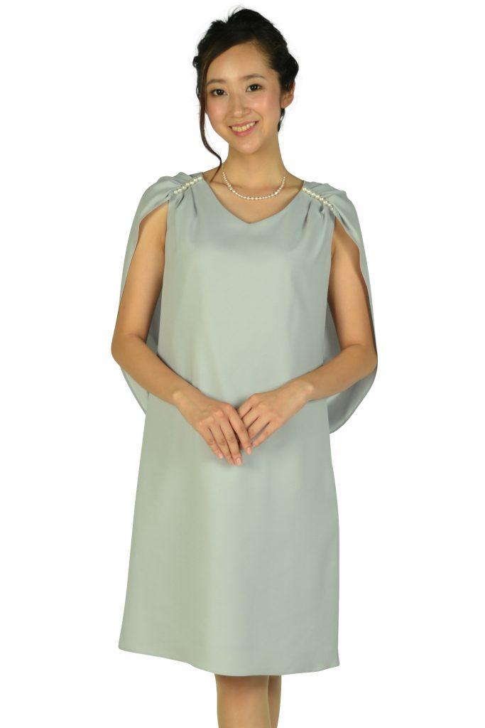ケティ (ketty) 肩パールケープグレードレス