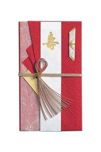 【祝儀袋】金封 もみ紙和紙 紅