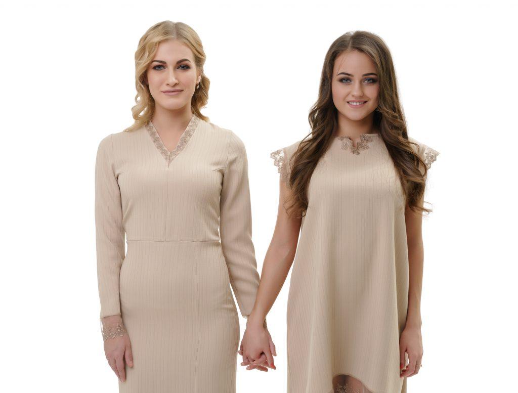 素材の良さが特に出やすいドレス。