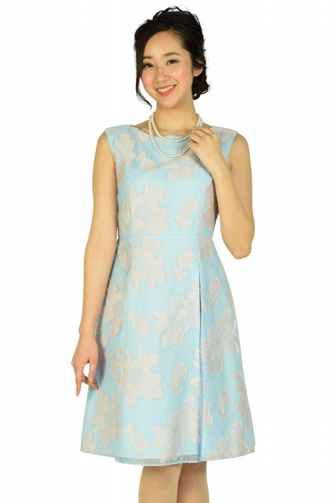 TOCCA フラワーサックスドレス