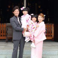 パパ&ママも一緒に!七五三 記念の一枚は「家族写真」を!!