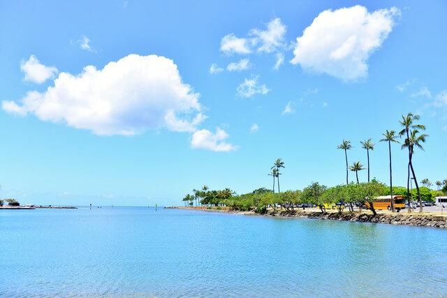 常夏は本当?ハワイの気候は?