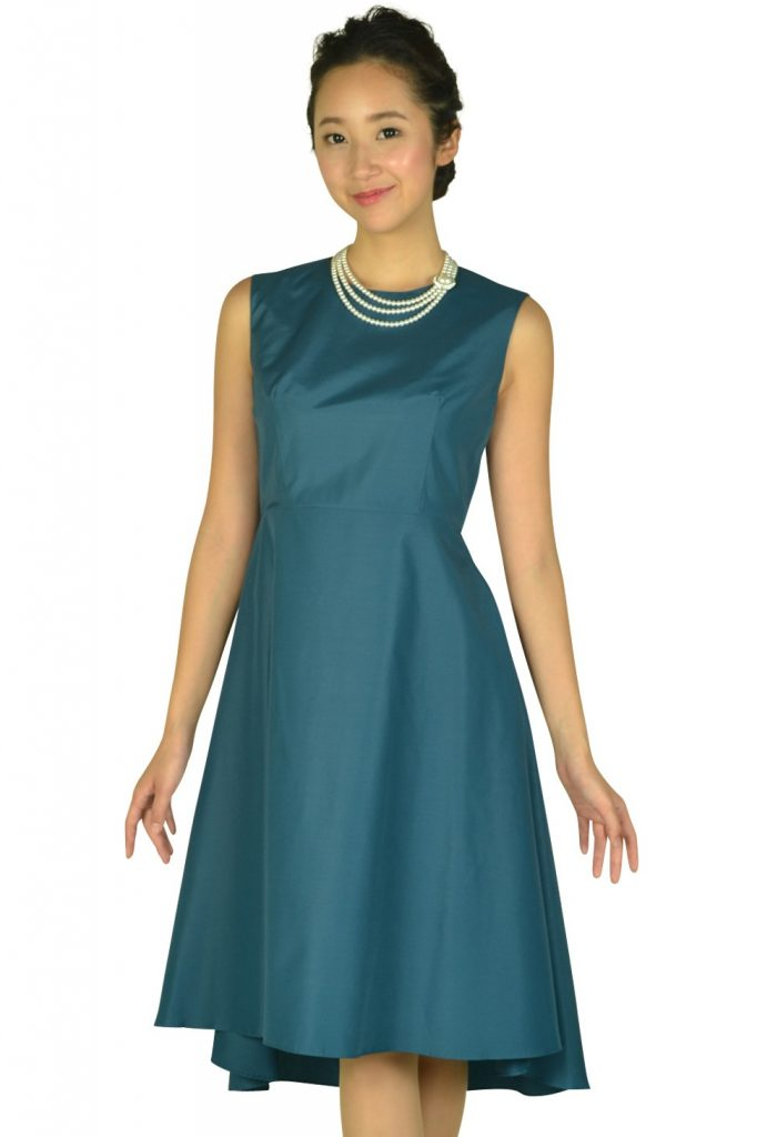 ダリアンスケリー(Dalliance Kelly) フィッシュテールスカートグリーンドレス