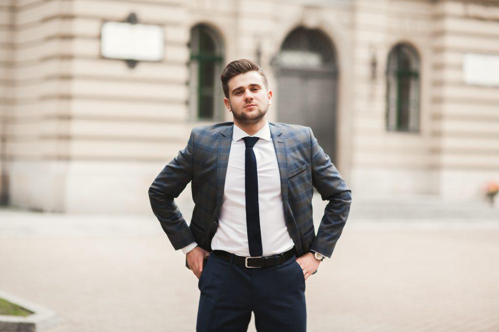 男性の服装ポイント