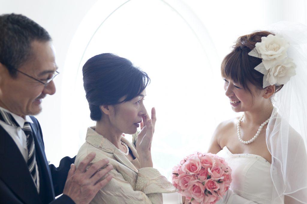 母親としての結婚式参列