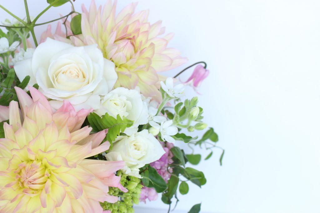プレゼントの代名詞 お花