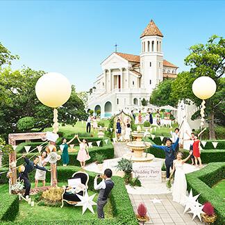 トレンド感溢れるゲストハウス アートグレイス・ウエディングコースト(大阪)