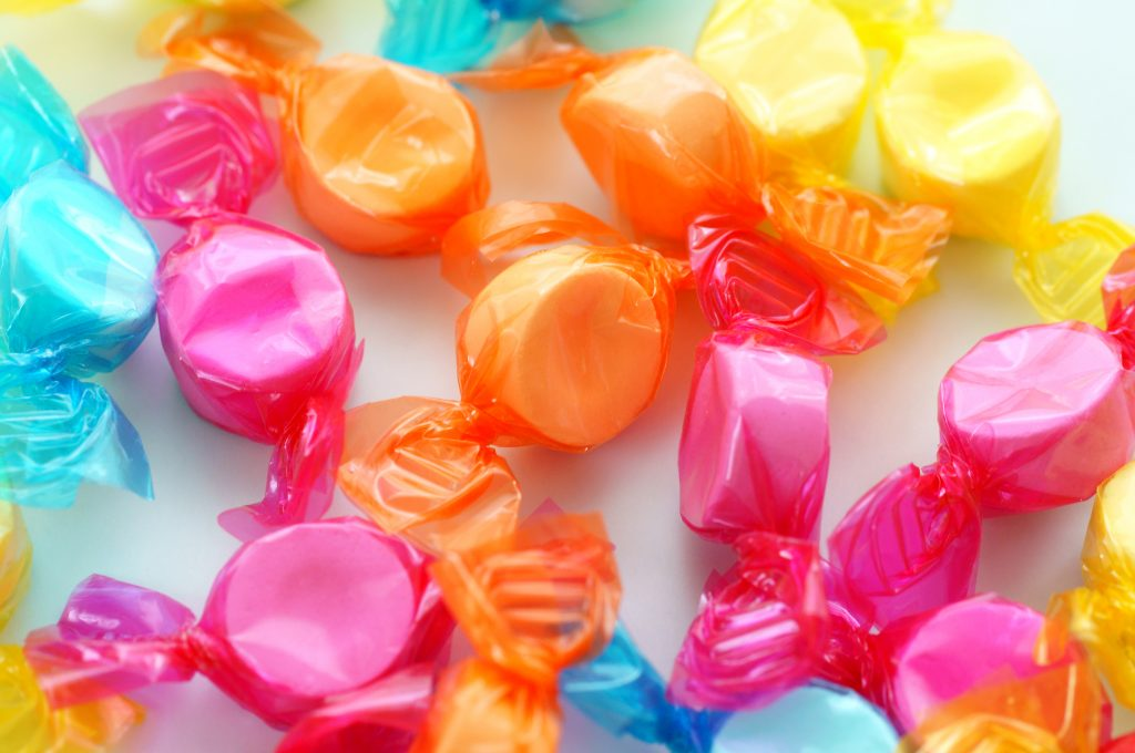 爽やかキャンディーやラムネ