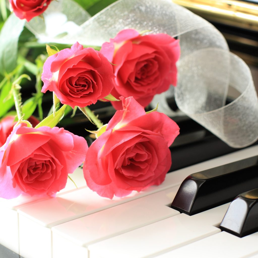 ピアノの発表会での 花束贈呈はどうする?!