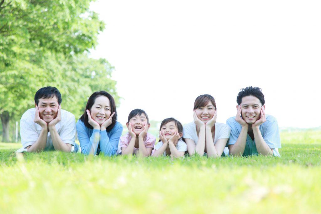 おしゃれなロケーションで「ロケ写真」をする家族も多いです