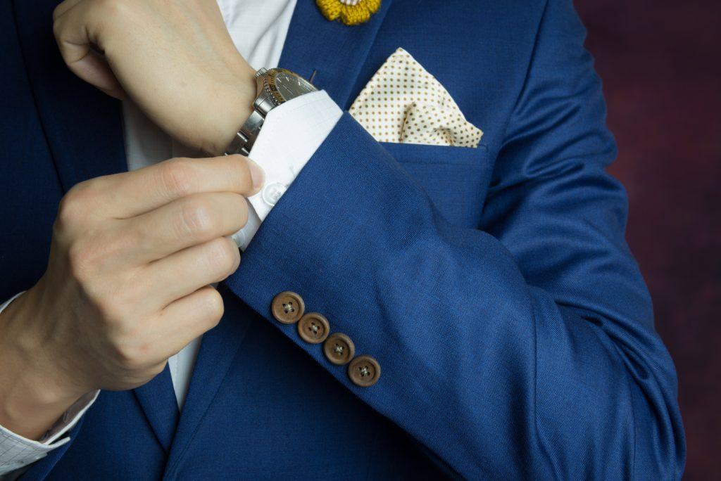ポケットチーフ(トライアングラー)の作り方