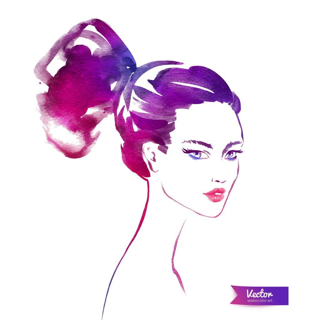 【髪型】…基本はUPスタイルが◎