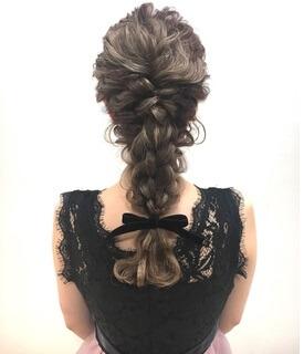 ロングヘアの髪型のポイント