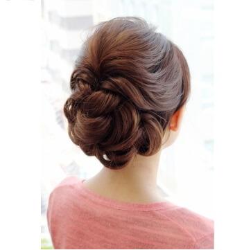 友人の髪型、40代女性におすすめのヘアセット