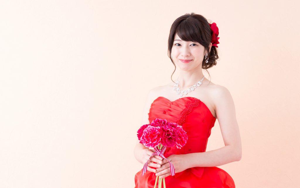 花嫁さんのお色直しと被るカラー