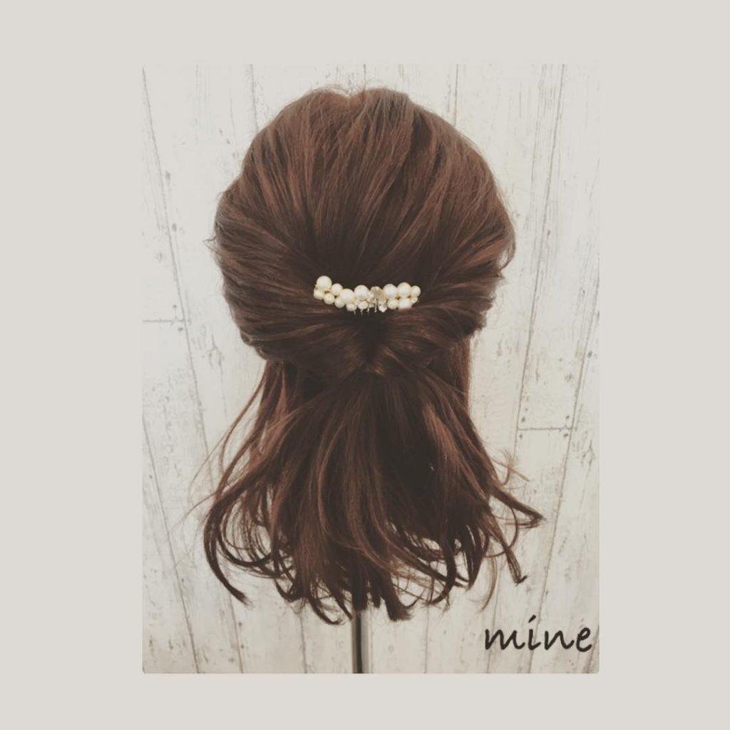 ミディアム~ロングヘアのヘアアレンジ