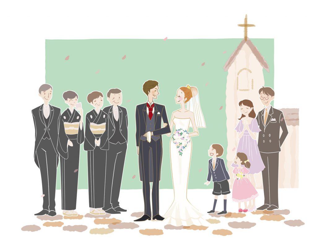 親族結婚式の場合の定番ドレスコード