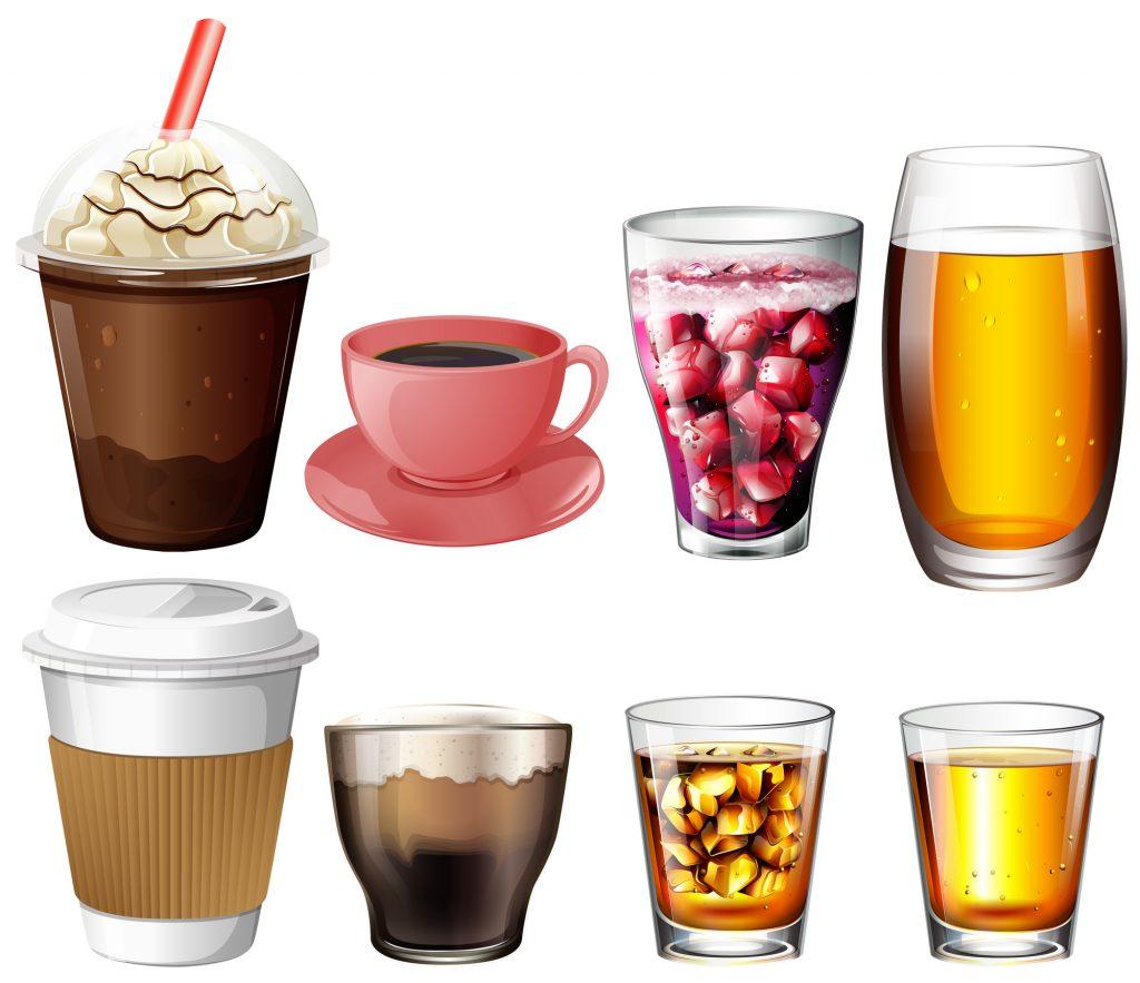 アルコール・カフェインに注意