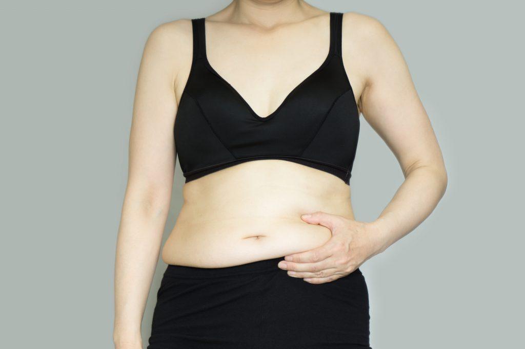 体型のお悩み:お腹