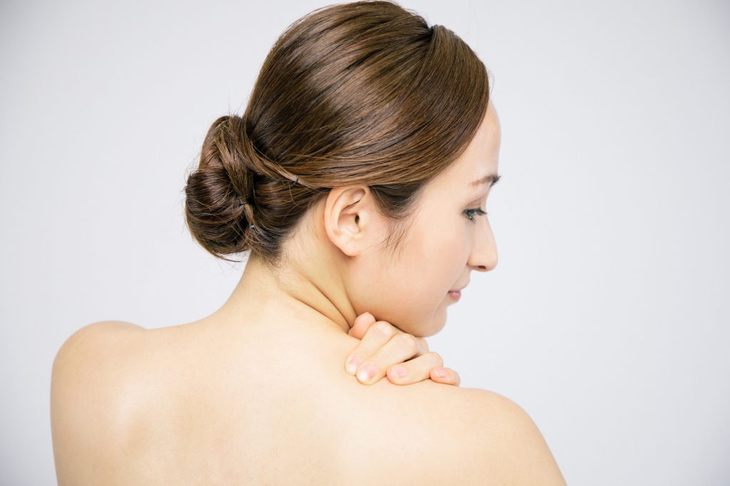 体型のお悩み:肩幅