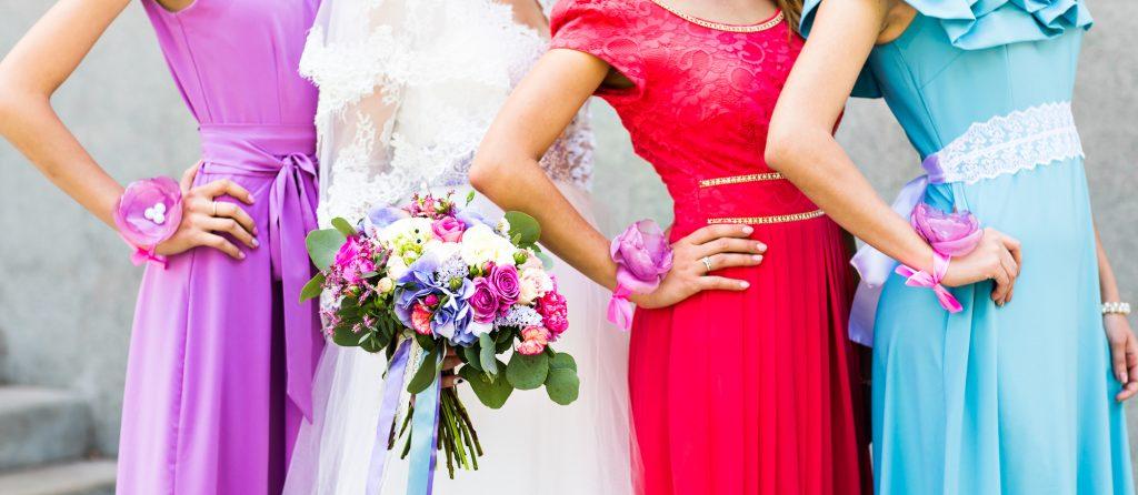 ポップで華やかなイメージの結婚式