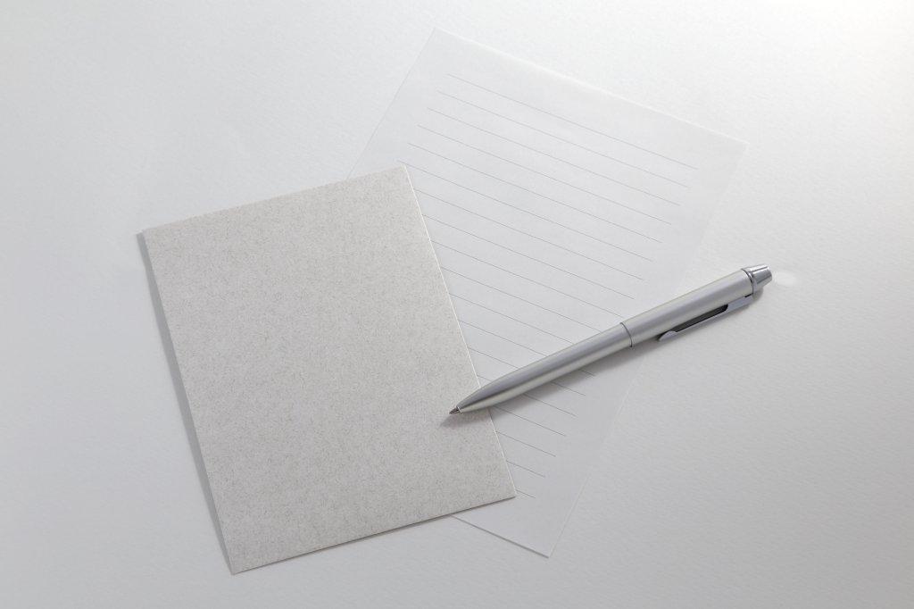 便箋・封筒の書き方