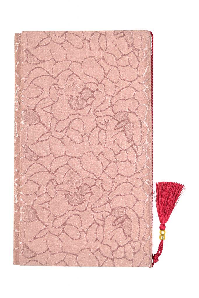 VIWOMINA タッセル付き花模様袱紗