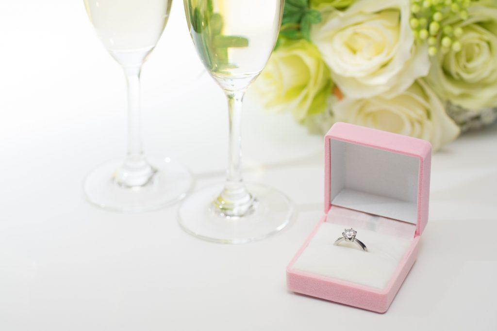 結婚記念日のお祝いをする