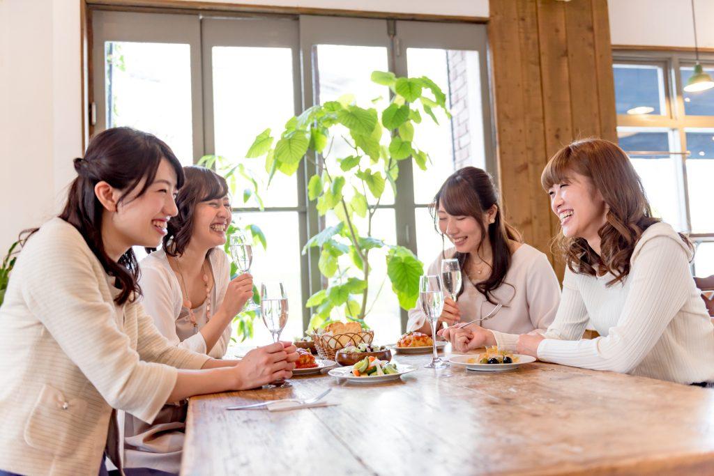 カフェや居酒屋での二次会・同窓会