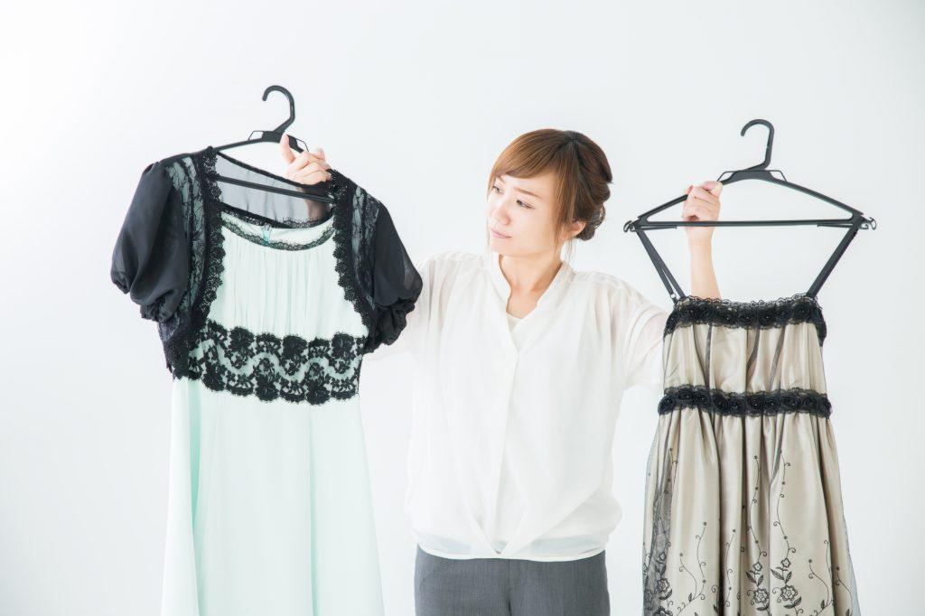 選んだドレスとの相性で選ぶ