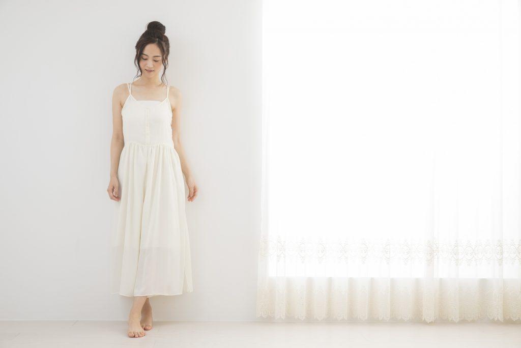 マキシ丈、ロングスカート