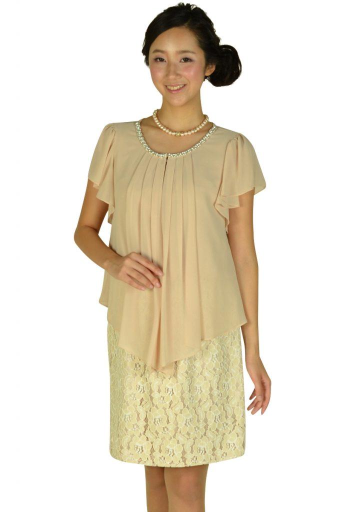 インタープラネット (INTERPLANET) フェミニンレーススカートドレス