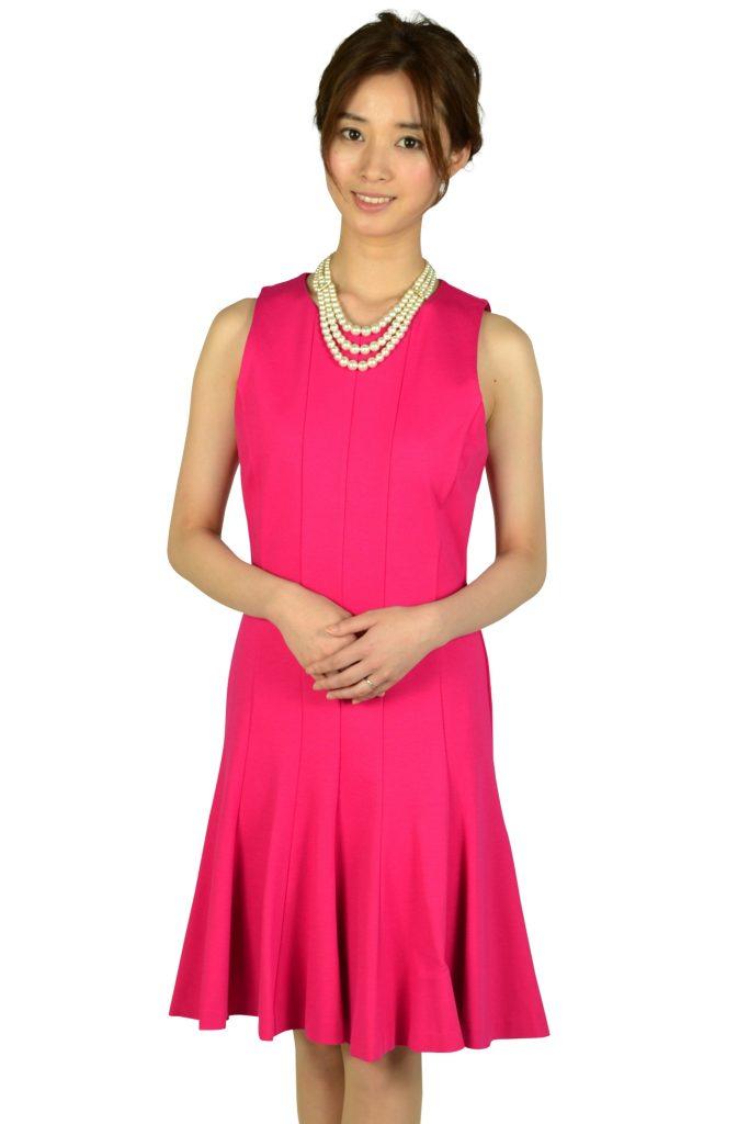 マイケルマイケルコース(MICHAEL MICHAEL KORS) トランペットスカートフューシャピンクドレス