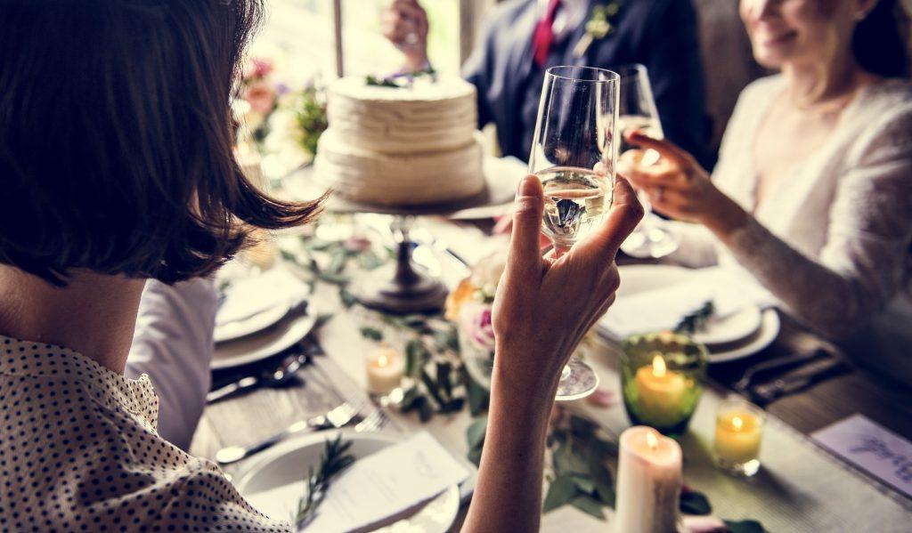 会社関係の結婚式参列