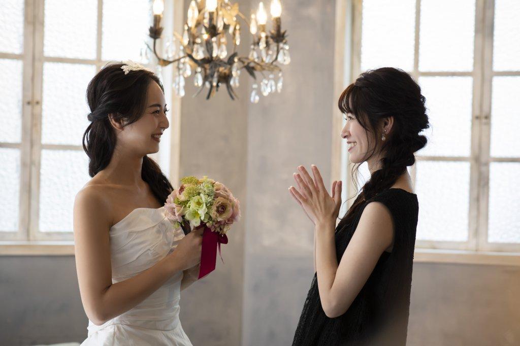 結婚式に出席