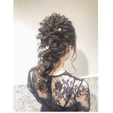 結婚 式 髪型