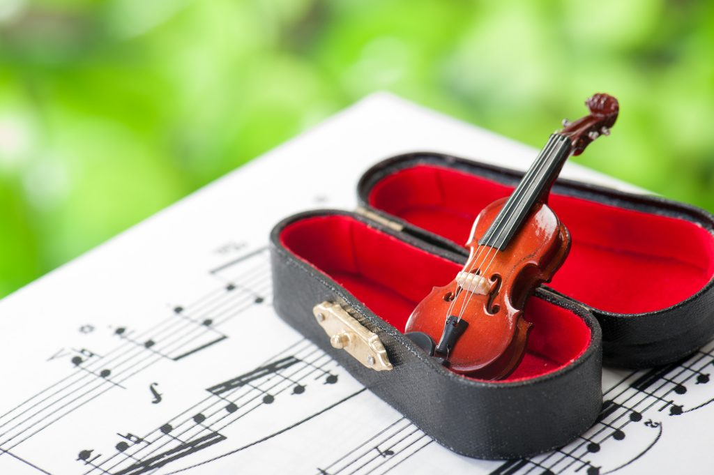 バイオリンの演奏会