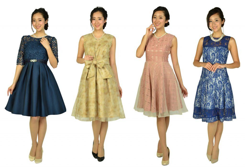 デザインが可愛い♡それなのに品よく見えるおしゃれなドレス