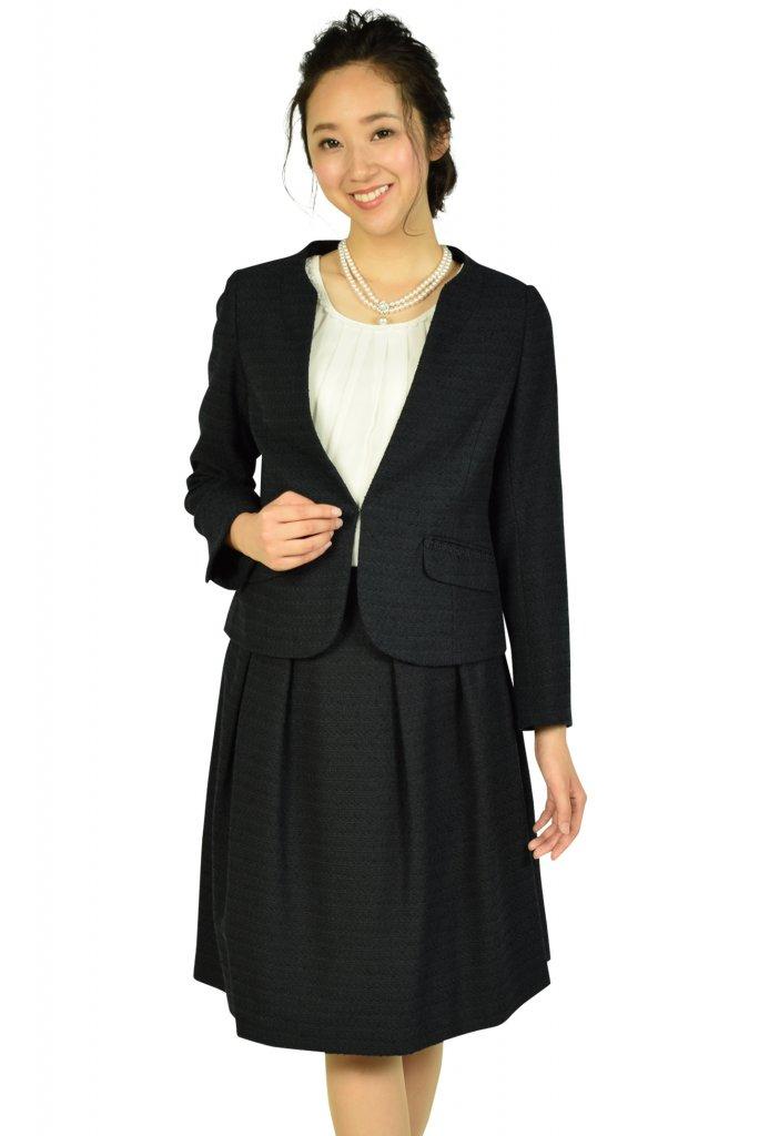 クチュールブローチ(Couture Brooch) ノーカラーネイビースーツセット