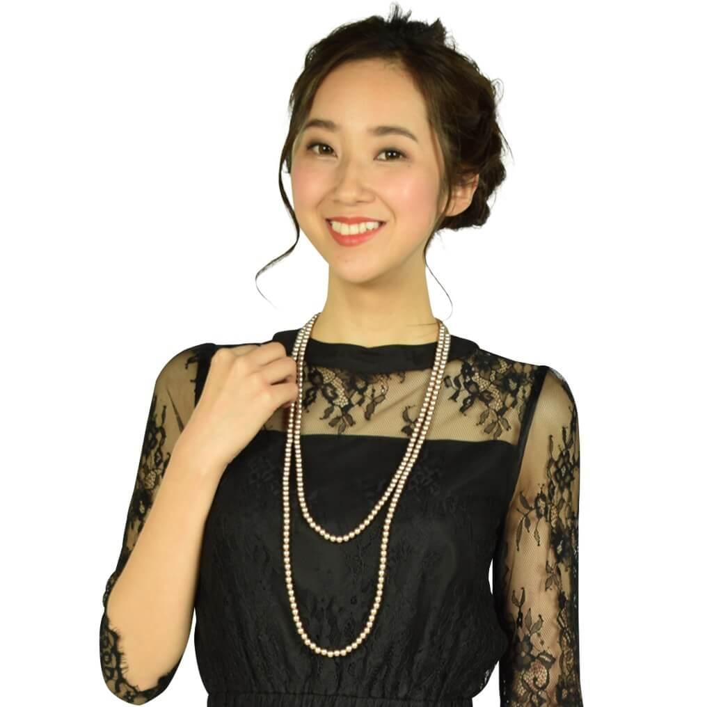 Dear Princess 総レースブラックドレス