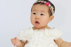 赤ちゃん ヘアアクセ