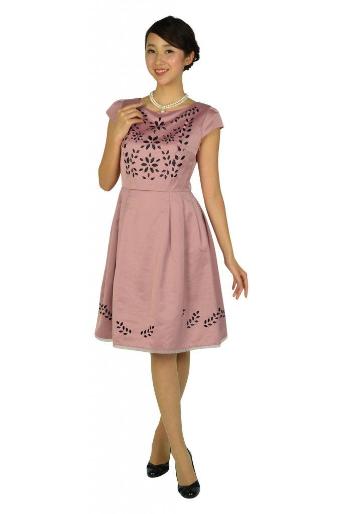 TOCCA フラワーカット品ありピンクドレス