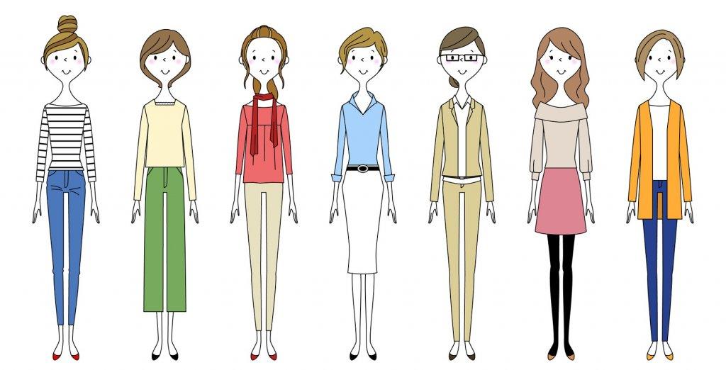 授業参観や学級懇談会の服装