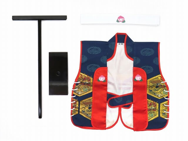 京都室町ストリート 男児ベビー用 金襴生地の陣羽織