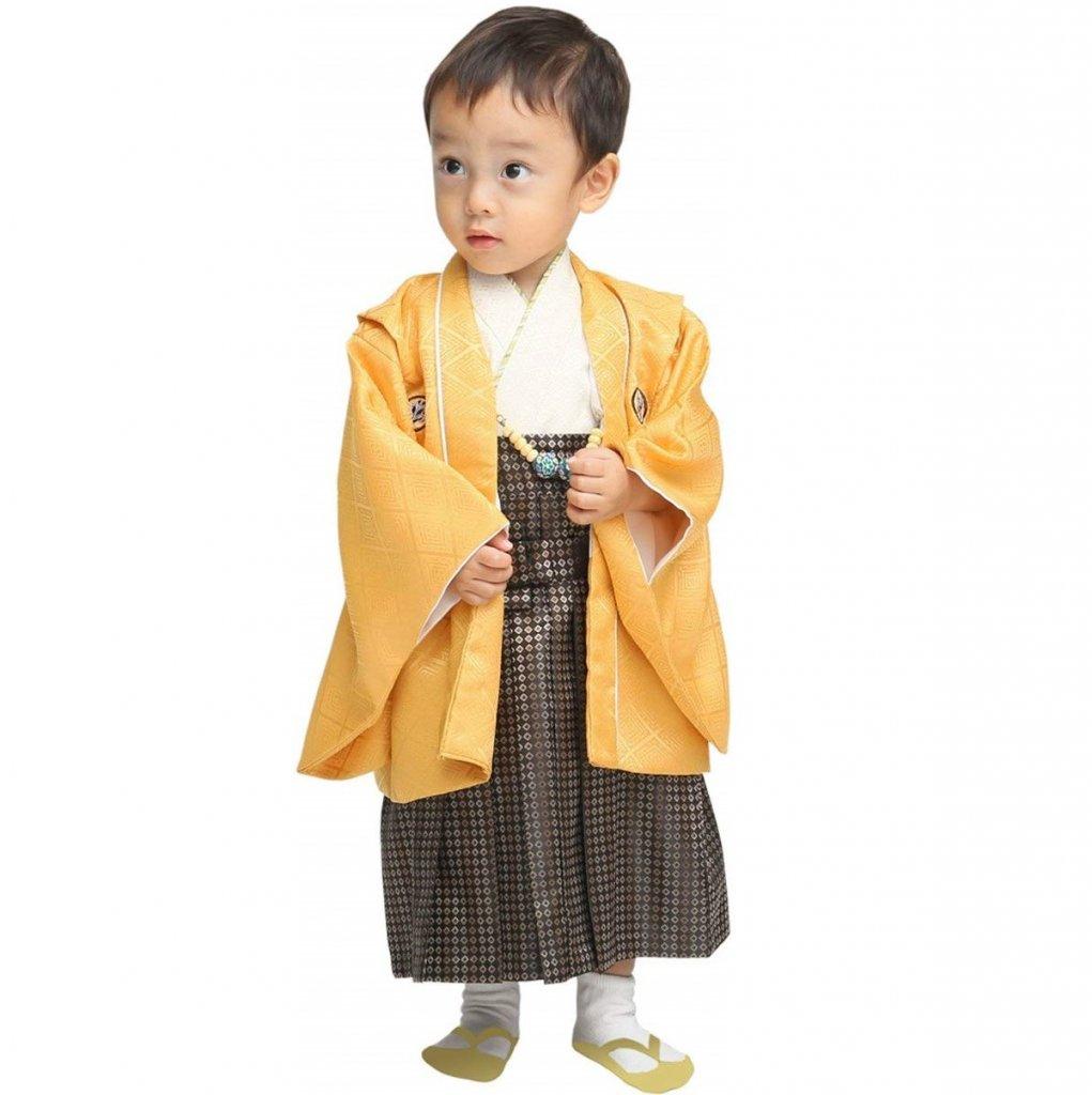 男の子 ベビー着物 羽織袴セット