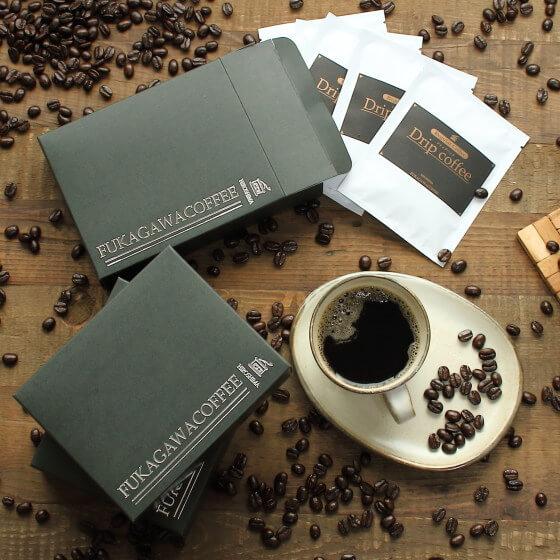 コーヒーギフト 石焼焙煎コーヒー豆(深煎り)ドリップバッグ