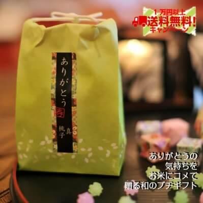 お米のプチギフト 新潟産コシヒカリ2合