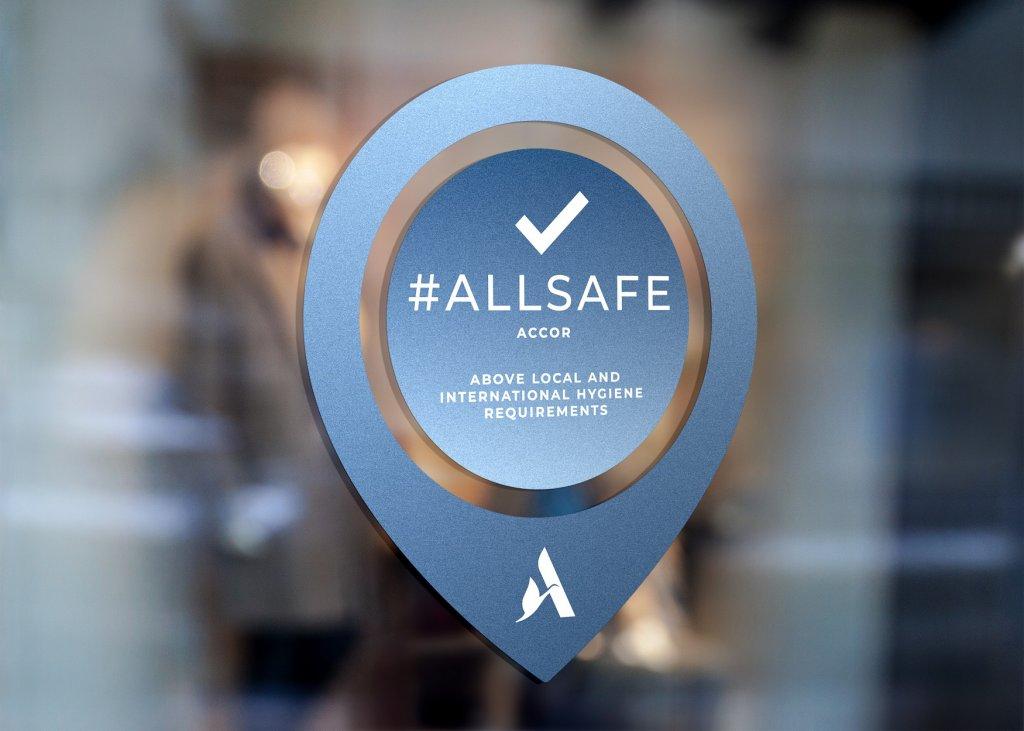 スイスホテル南海大阪 - ALLSAFEロゴ