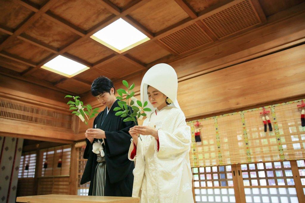 大國魂神社結婚式場 神前式
